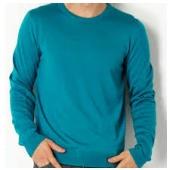 ターコイズセーター