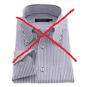 ストライプワイシャツ1