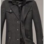 ビジネススーツに合うメンズスプリングコートはグレー?