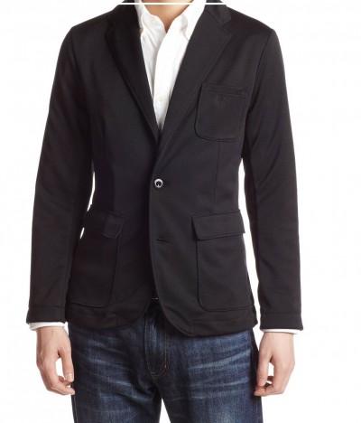 テーラードジャケットブラック1