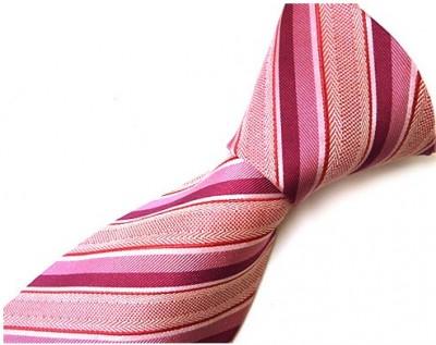 ピンク濃いめのネクタイ