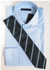 ブルーシャツに合わせるネクタイ