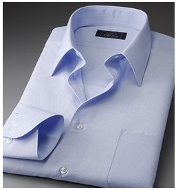 ブルーワイシャツ