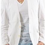 夏に着るメンズ麻ジャケットの色はベージュか白か?それとも・・・