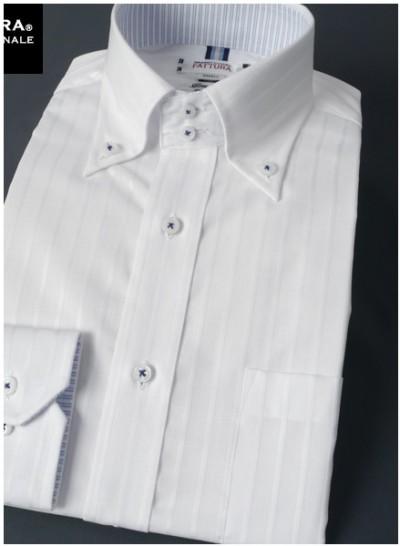 白ワイシャツメンズ柄あり