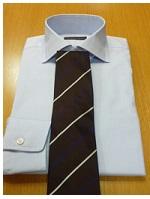 茶色のネクタイ2