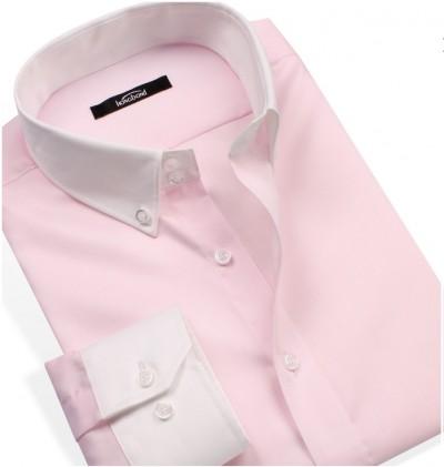 薄めのピンクワイシャツ