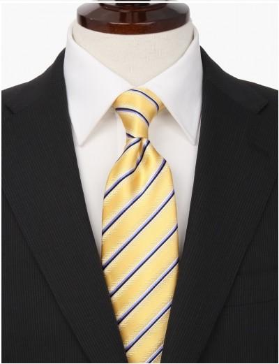 黄色のネクタイメンズ