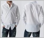ホワイトシャツメンズ