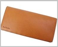 ポールスミス財布キャメル