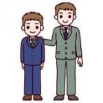 お子さんの入学式で父親のスーツはグレーが一番印象が良い?