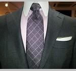大学生が着るブラックスーツに合う人気のネクタイの柄はこれ!