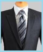 シャドーストライプのスーツ2