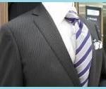 入社式にシャドーストライプのスーツを着るのはOK?NG?