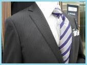 シャドーストライプのスーツ3