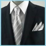 やっぱり結婚式には、シルバーグレーのネクタイが無難なの??