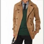 春に着るメンズトレンチコートの色はベージュが良いのか!?