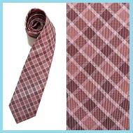 ピンクネクタイ柄1