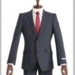 入社式でストライプスーツを着ると調子に乗ってると思われる?