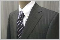 メンズのストライプスーツオッケーパターン2