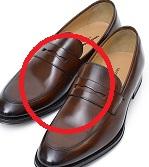 メンズ革靴茶色3