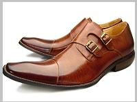 先のとがった革靴2