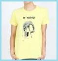 レモン色Tシャツ