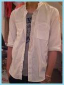 七分袖のシャツ