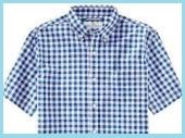 ギンガムチェックシャツ1
