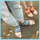 サンダル用靴下1