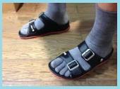 サンダル用靴下3