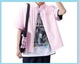 ピンク半袖シャツ3