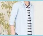 メンズ七分袖シャツの着こなし・コーデ術!ウケが良い色は?