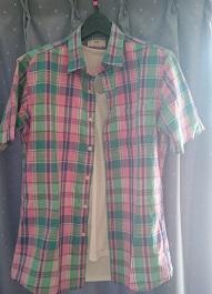 ユニクロリネン半袖シャツ3