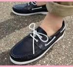 デッキシューズから見える靴下はNG?ずれるのを防止するには?