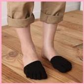デッキシューズ靴下3