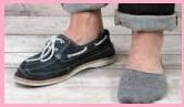 デッキシューズ靴下4