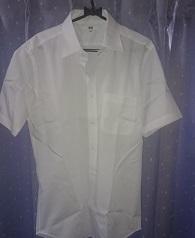 ユニクロ半袖ワイシャツ