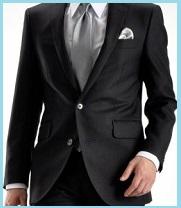 黒のスーツ2