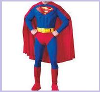 ハロウィンスーパーマン